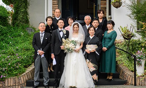 家族婚の内容